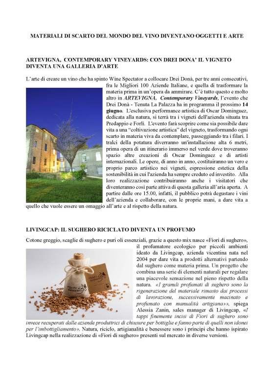 MATERIALI DI SCARTO DEL MONDO DEL VINO DIVENTANO OGGETTI E ARTE_Pagina_1